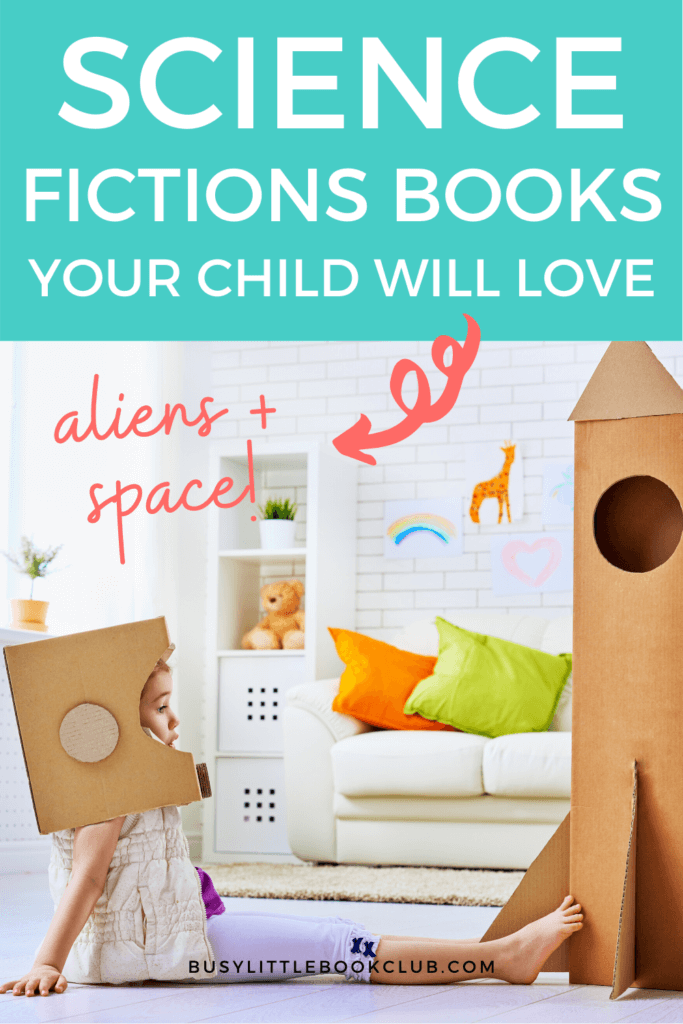 The Best Books for Kids: Science Fiction Books for Kids