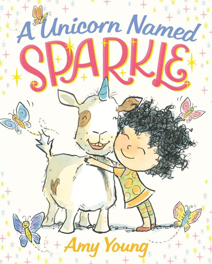 A Unicorn Named Sparkle - one of our favorite fantasy books for kids