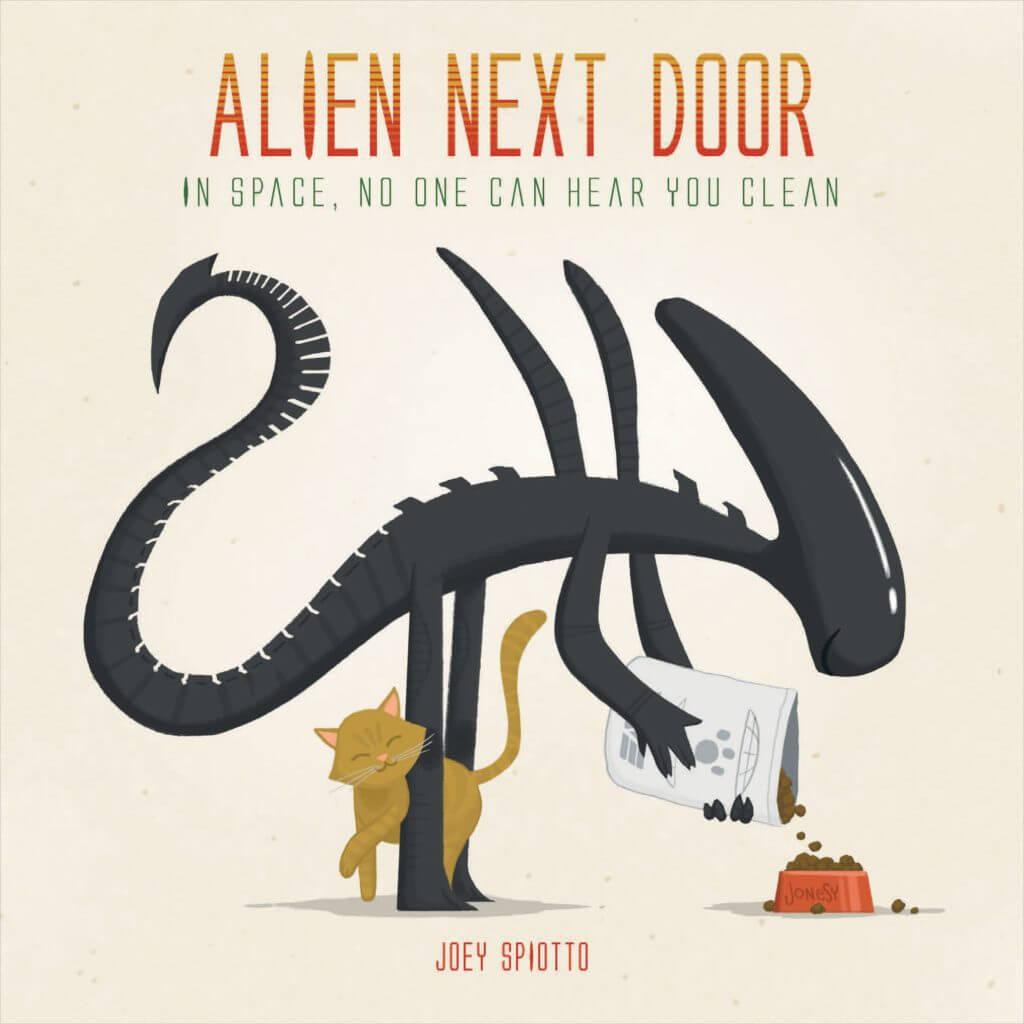 Alien Next Door- Science Fiction Books for Kids