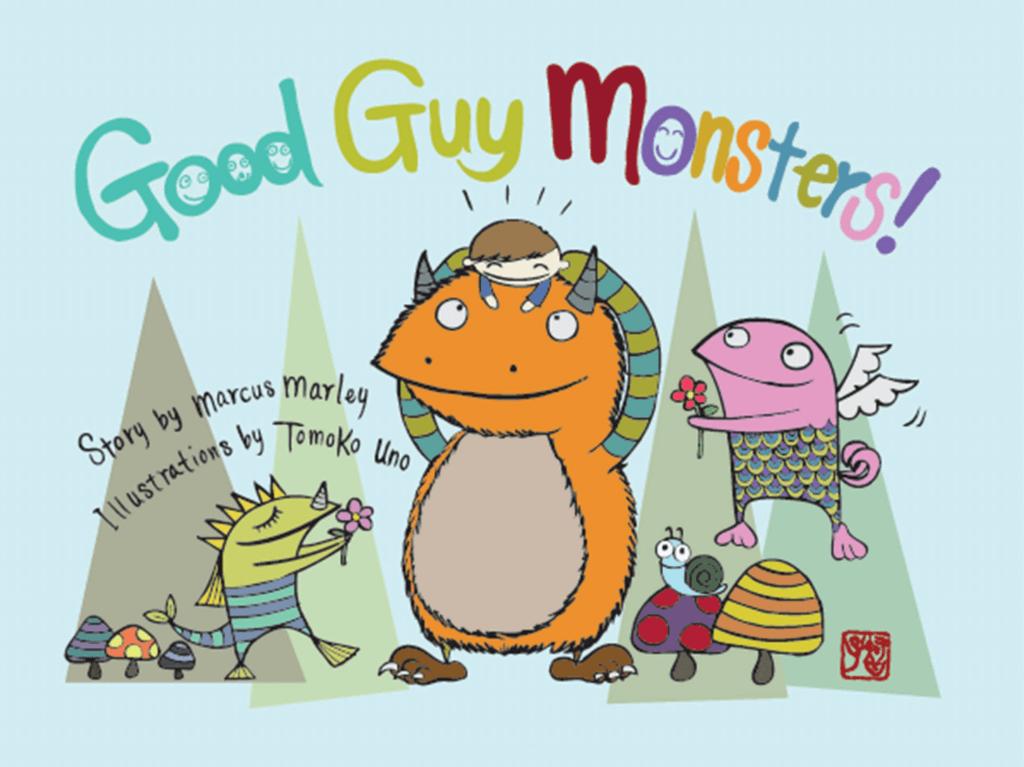 Good Guy Monsters - monster books for kids