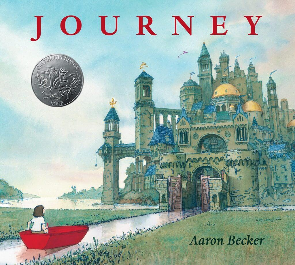 Journey - one of our favorite fantasy books for kids