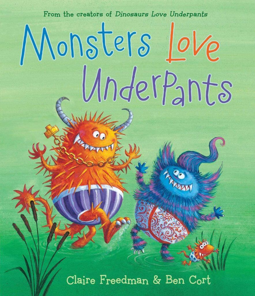 a monster book for kids to read