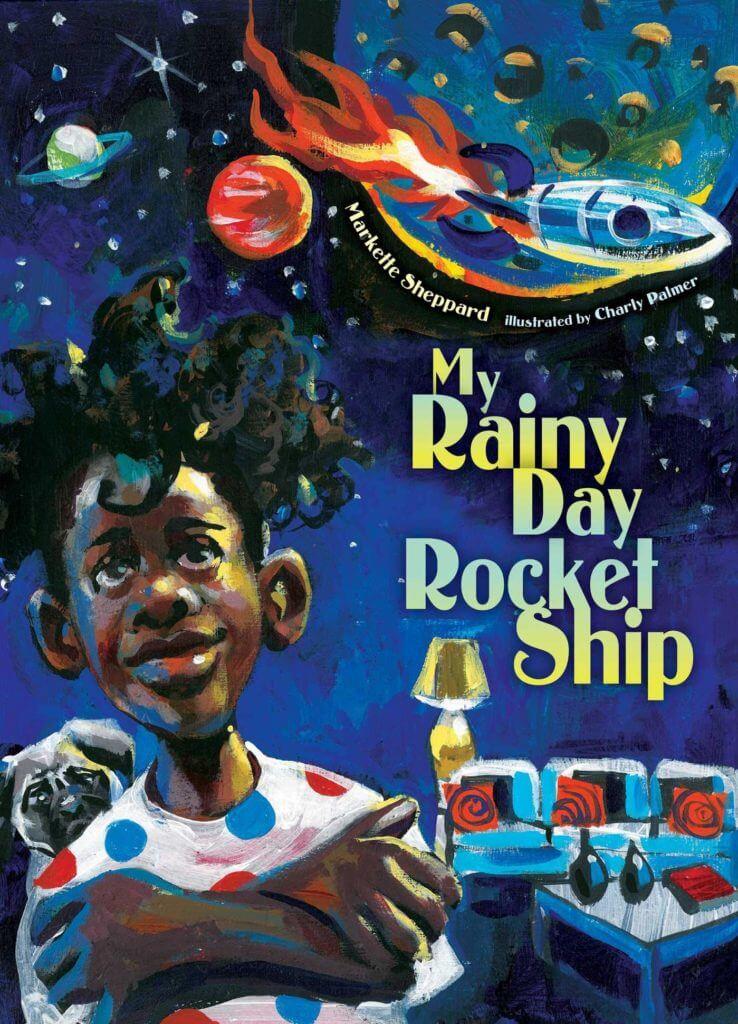 My Rainy Day Rocket Ship- Science Fiction Books for Kids