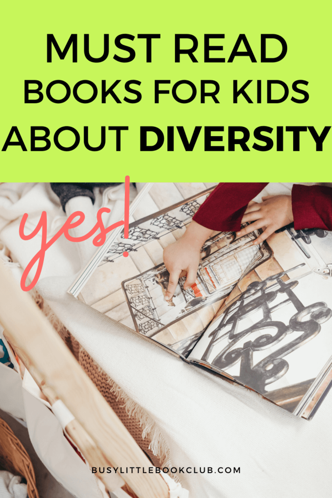 Child Reading Books for Kids About Diversity