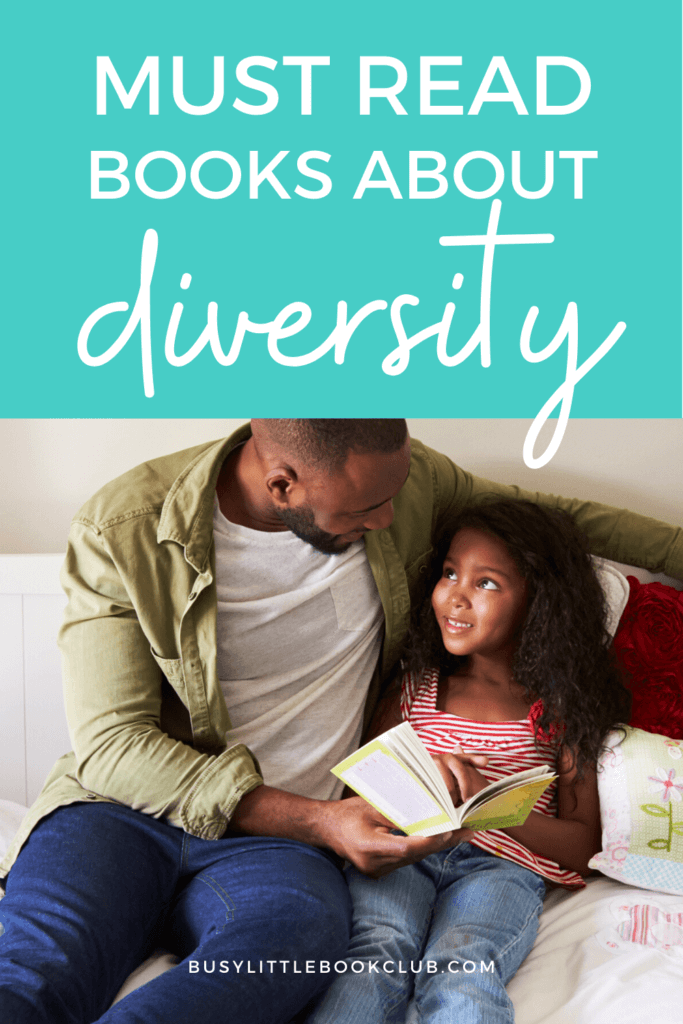 Dad and Daughter Reading Books for Kids About Diversity
