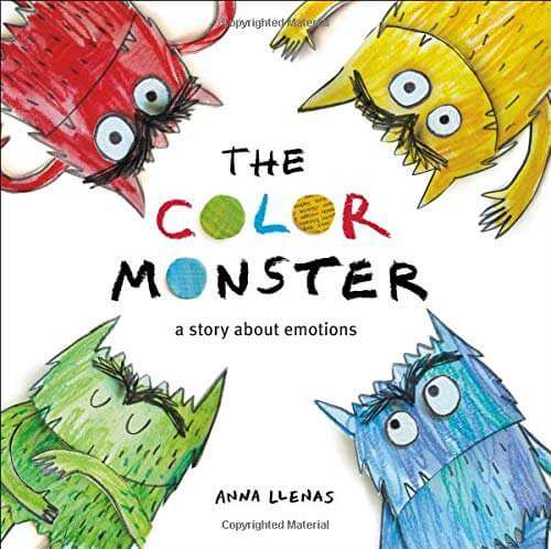 The Color Monster - a book about monsters for kids