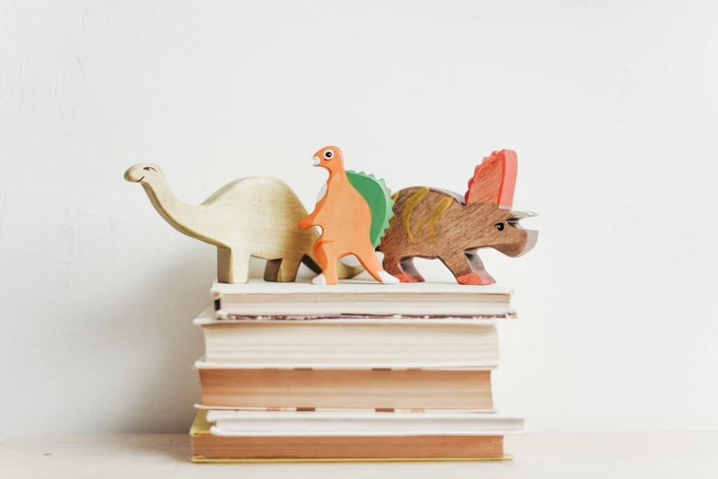 Wood Dinosaurs on Free Books for Kids