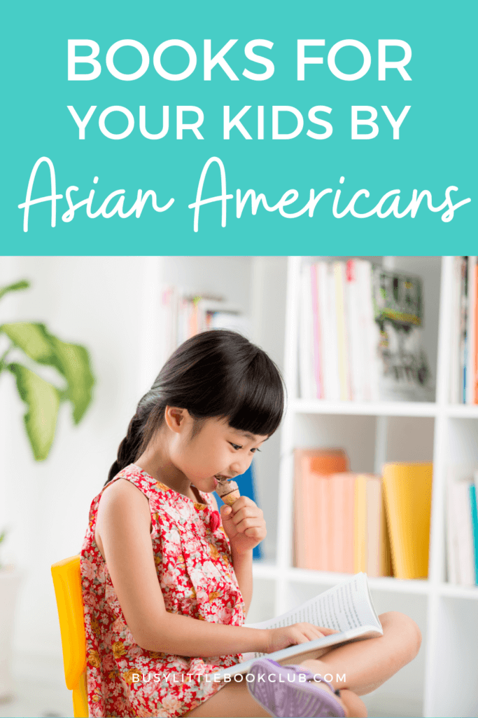 Pinterest Busy Little Book Club - Books for Kids by Asian Americans